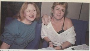 Dolores French & Lynn Hampton