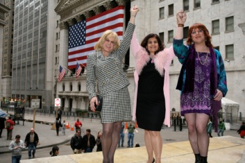 Rita and Misty take Wall Street.
